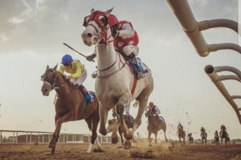 MAWAHIB WINS THE FEATURE RACE IN SHARJAH!