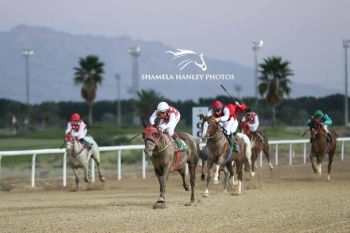 SUPER HAT TRICK FOR THE FIRST MEETING IN AL AIN!
