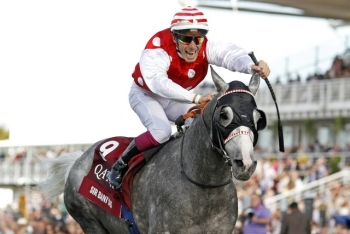 Late move pushes Sir Bani Yas to victory lane at Goodwood