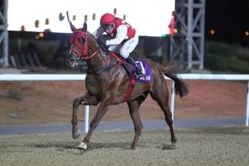 DARIUS DU PAON LEADS THE AL ASAYL TRIPLE IN THE SHEIKH ZAYED BIN SULTAN AL NAHYAN CUP GR3!!!!!
