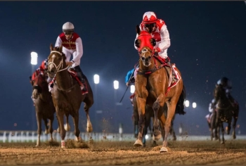 RB MONEY TO BURN LANDS THE MAZRAT AL RUWAHAH GROUP 2 on February 11th