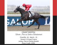 COUNT ROSTOV WINS IN CHANTILLY ON 03/16/21