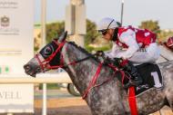 GURM EASILY WINS RACE 3 AT ABU DHABI RACETRACK on 04/04/21