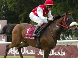 Fryvolous showed his class and won the Abu Dhabi International Stakes sponsored by the Emirates Equestrian Federation.