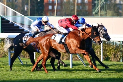 THE REVENANT WINS THE PRIX EDMOND BLANC GR 3 IN FRANCE