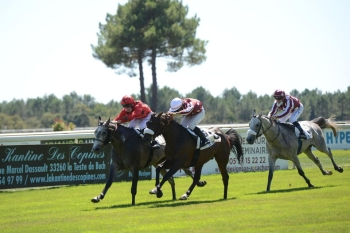 MUJAZIF LANDS GROUP 2 IN LA TESTE DURING THE FABC